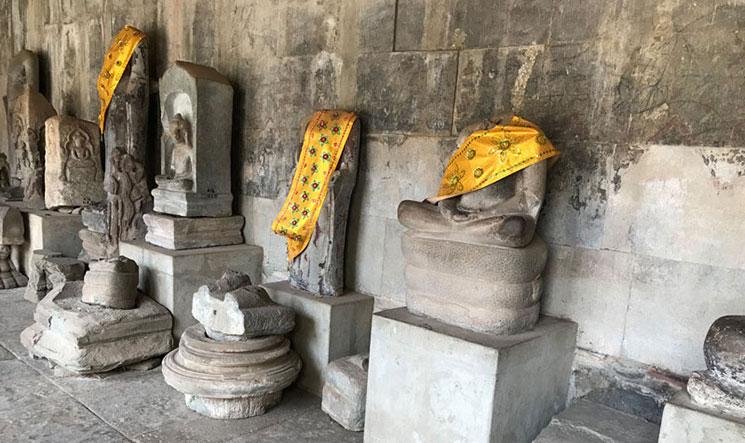 第2回廊の仏像