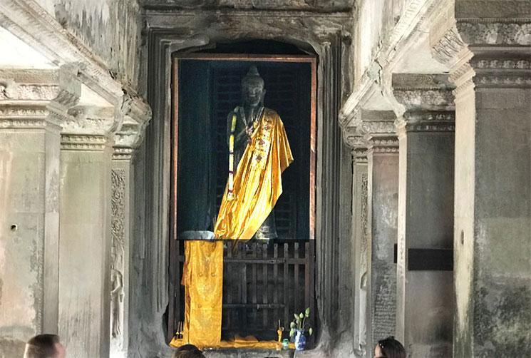 第3回廊の仏陀象