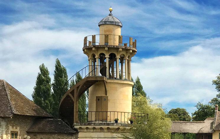 マリーアントワネットの離宮 マールボロの塔