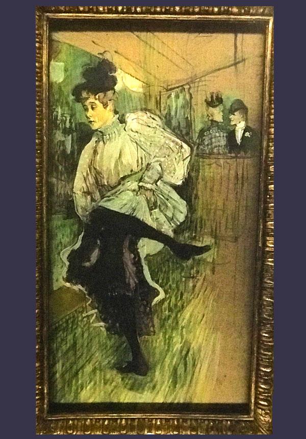 踊るジャンヌ・アヴリル