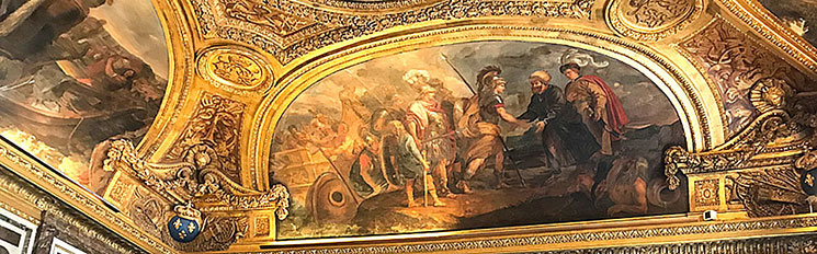 ディアナの間の天井画