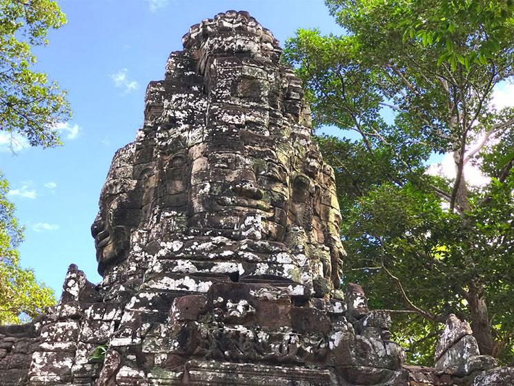 アンコール・トム 観音菩薩の仏塔