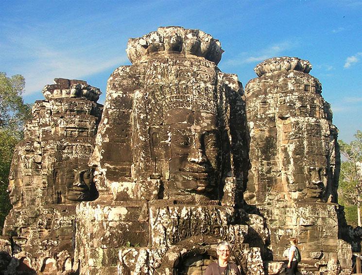 アンコールトムの仏塔