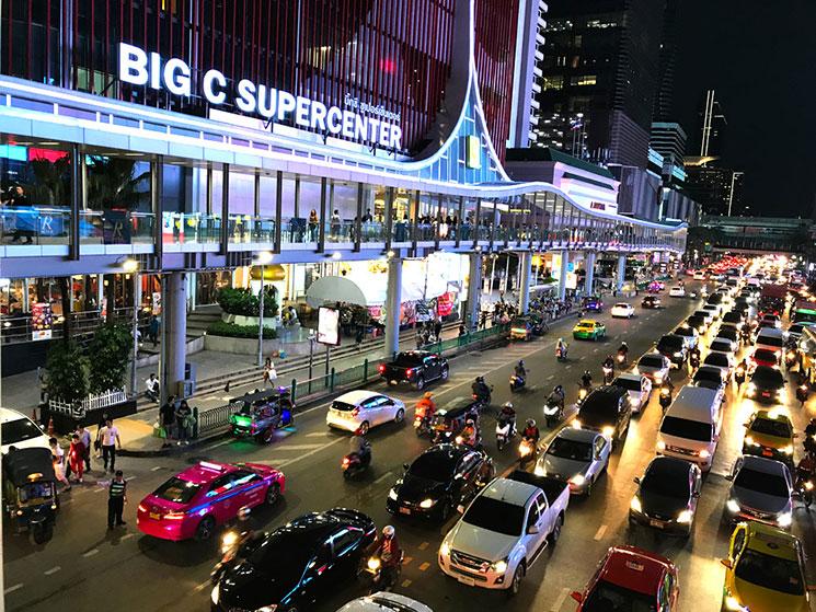 バンコク市内 夜景