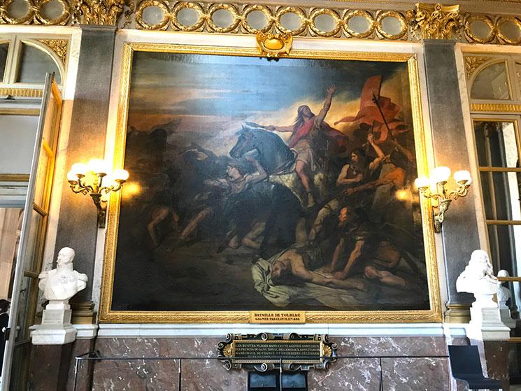 戦史の回廊の絵画