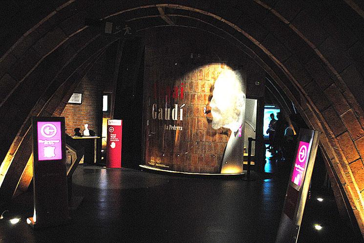 屋根裏の回廊 ガウディ博物館