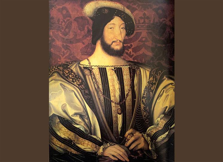フランソワ1世の肖像