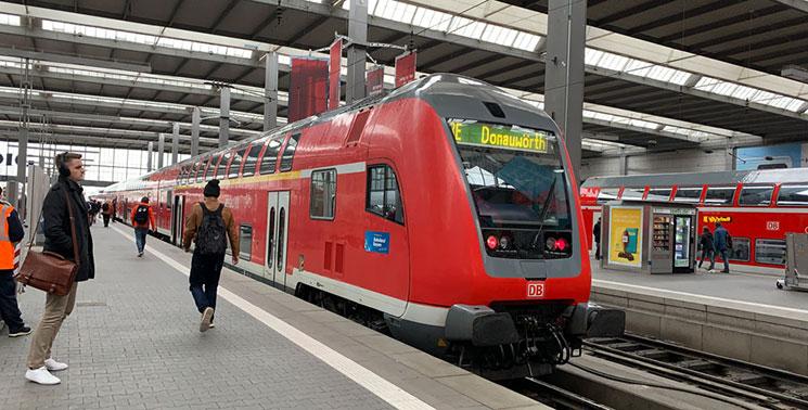 ドイツ国鉄列車