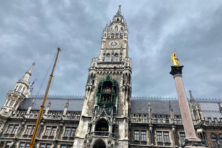 新市庁舎の建物