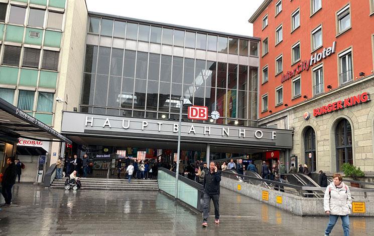 ミュンヘン中央駅外観