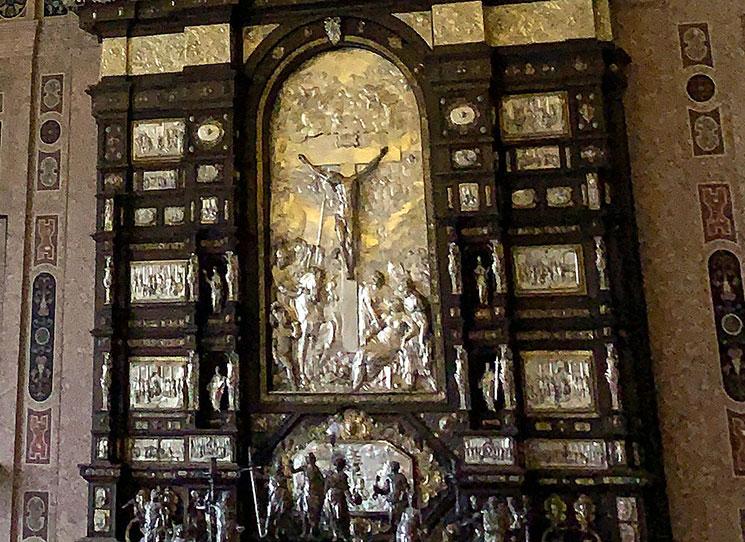 ライヒェ・カベレの銀の祭壇