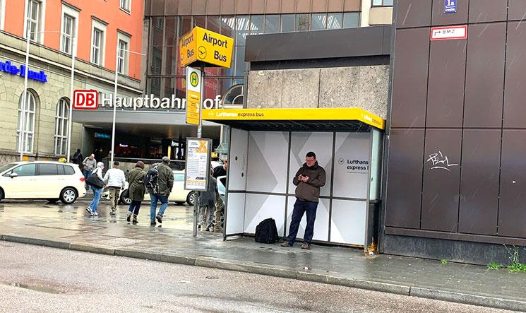 ミュンヘン中央駅北口