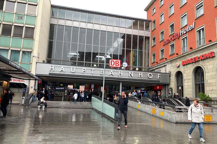 ミュンヘン中央駅の外観