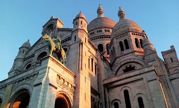 サクレ・クール寺院の外観