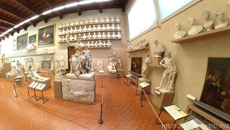 アカデミア美術館の展示エリア
