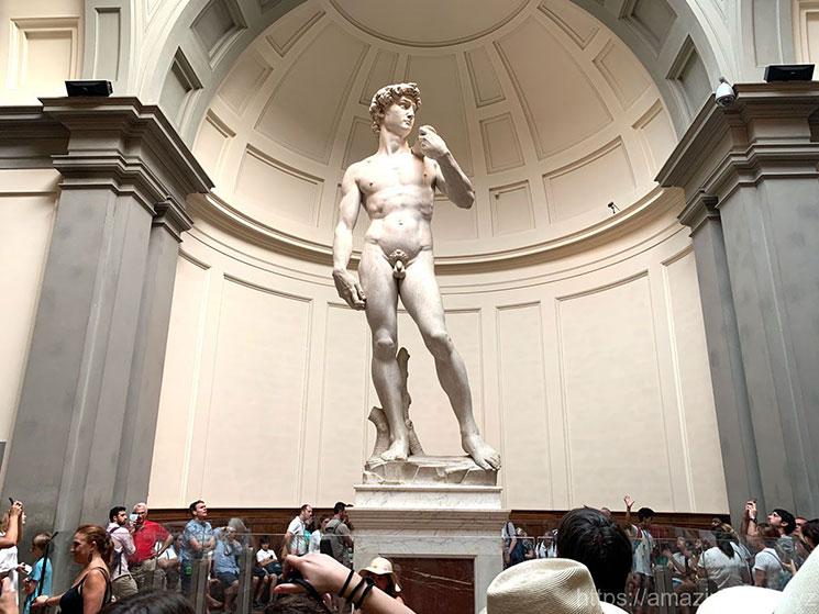 オリジナルのミケランジェロ ダヴィデ像