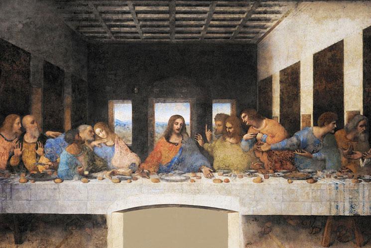 最後の晩餐の壁画