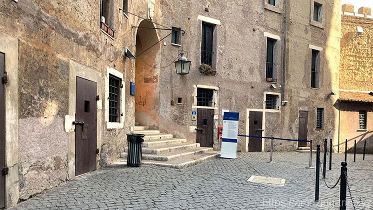 サンタンジェロ城内の景観
