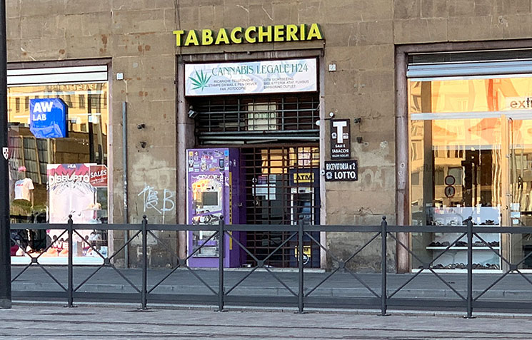 フィレンツェのタパッキオ