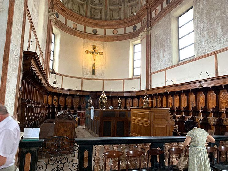 サンタ・マリア・デッレ・グラツィエ教会の主祭壇