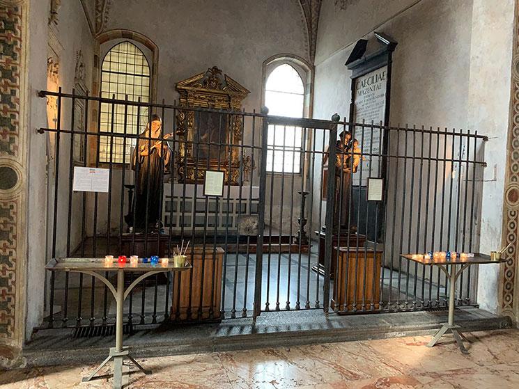 サンタ・マリア・デッレ・グラツィエ教会の礼拝堂