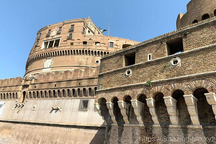 サンタンジェロ城の外観