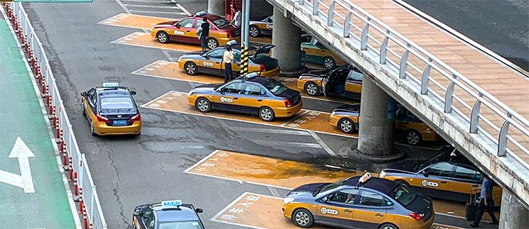 北京空港の正規タクシー