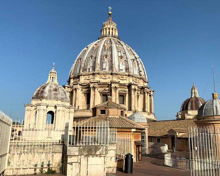 サン・ピエトロ大聖堂内のクーポラ