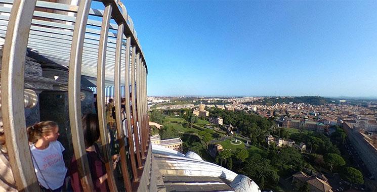 クーポラ 展望階の景観