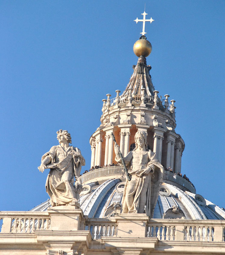 サン・ピエトロ大聖堂のクーポラ