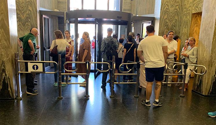 バチカン美術館の出口