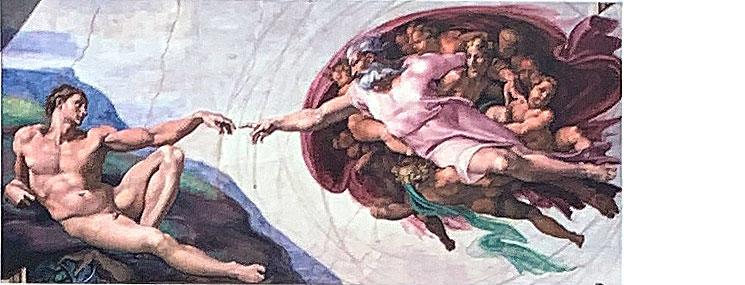 天地創造 アダムの創造