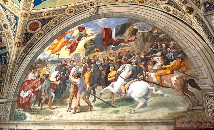 大教皇レオとアッティラの会談