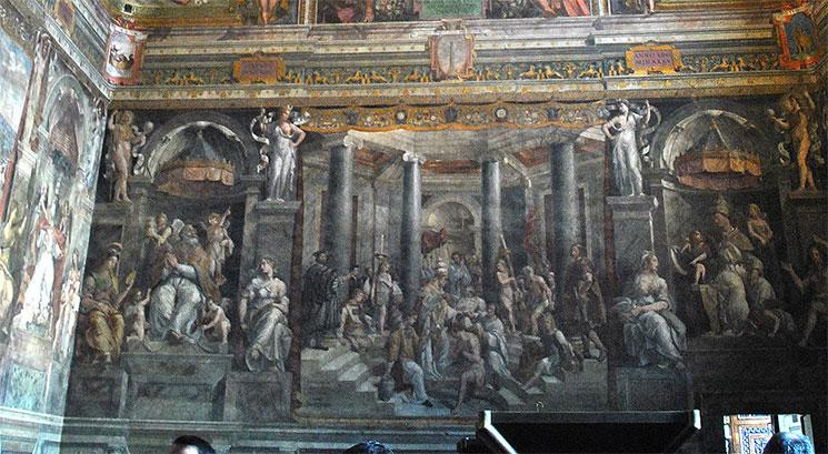 コンスタンティヌウス帝の洗礼