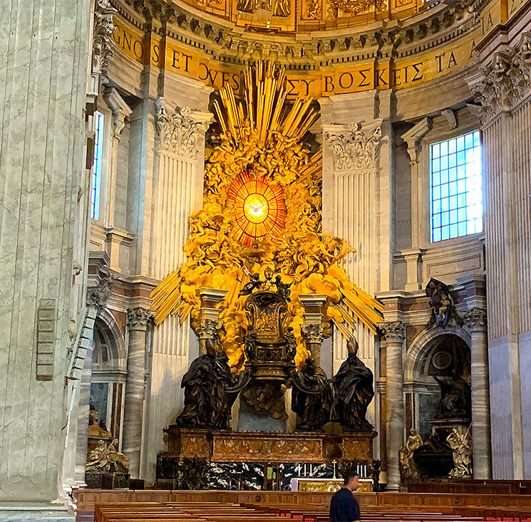 聖ペトロの司教座