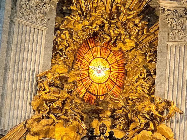 サン・ピエトロ大聖堂 聖ペトロの司教座