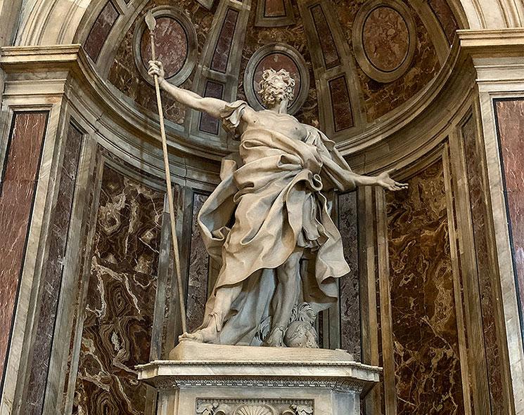 聖ロンギーヌス像(ベルニーニ作)