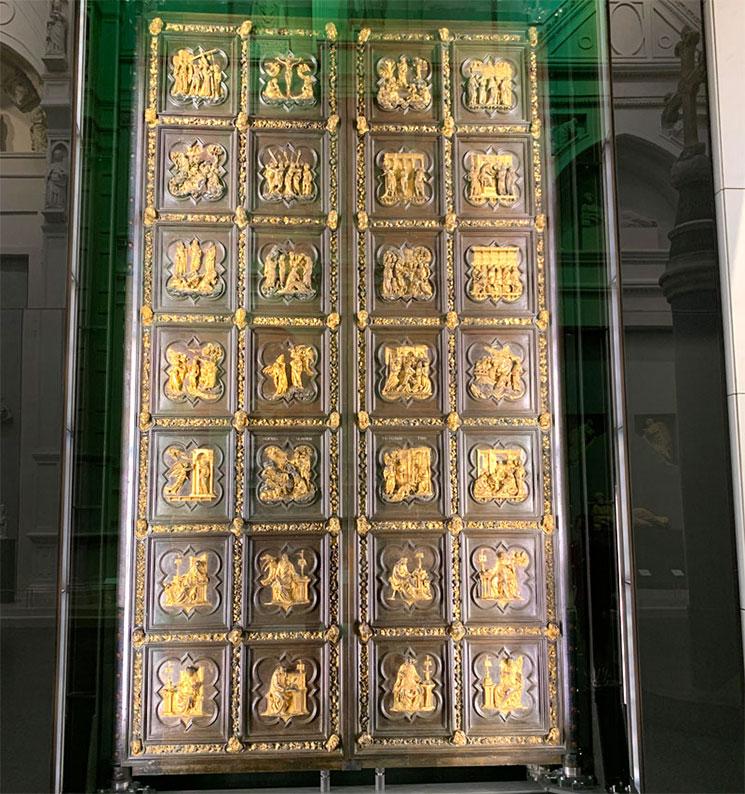 ギベルティ作 北側の扉のオリジナル