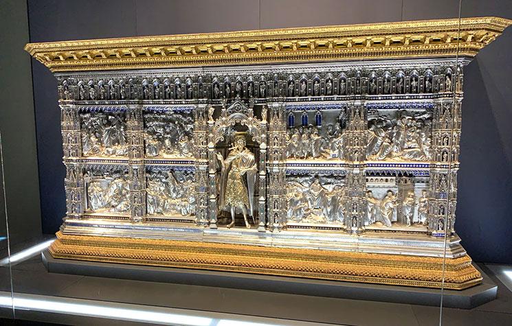 ヴェロッキオ工房作 銀の祭壇