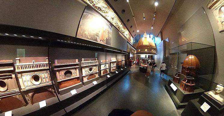 第15室 クーポラの模型