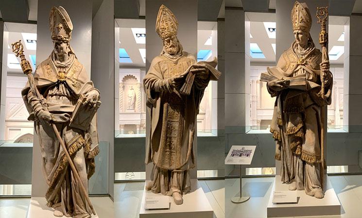 第17室展示の彫像