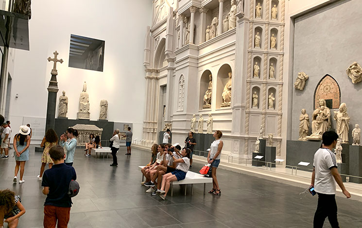 ドゥオーモ付属美術館の展示室