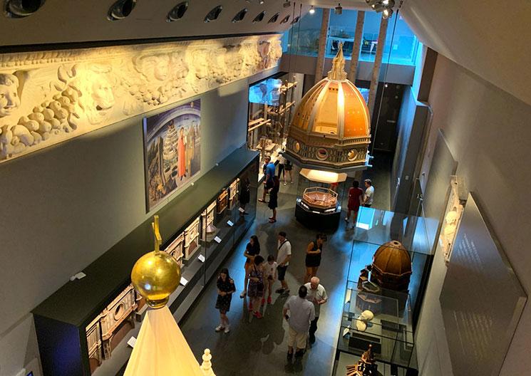 ドゥオーモ付属美術館 展示室の景観