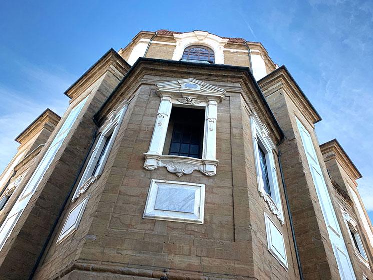 メディチ家礼拝堂の外観