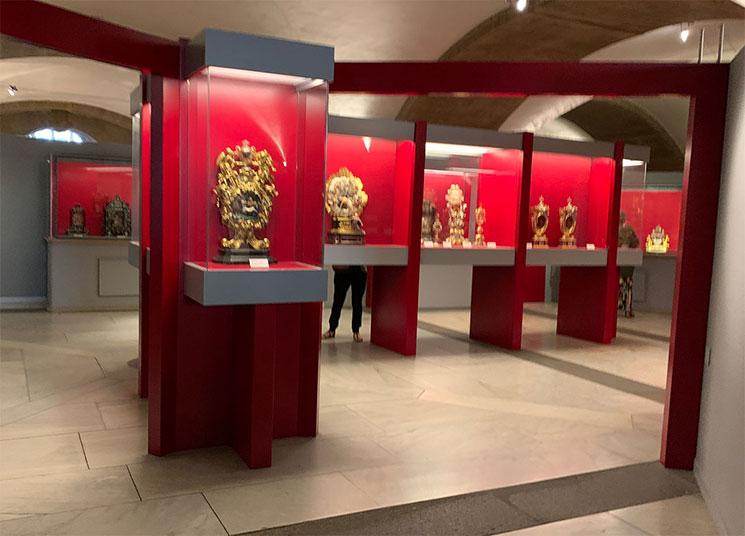 メディチ家礼拝堂 聖遺物の展示室