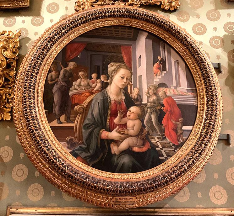 フィリッポ・リッピ作 聖母子と聖母の物語