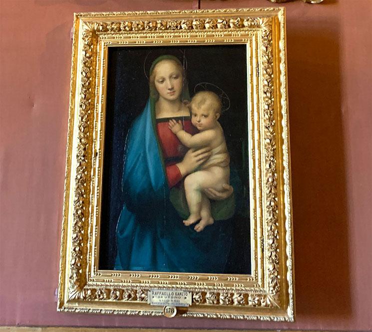 ラファエロ・サンティ作 大公の聖母