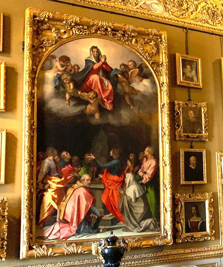 アンドレア・デル・サルト作 パッセリーニの被昇天の聖母