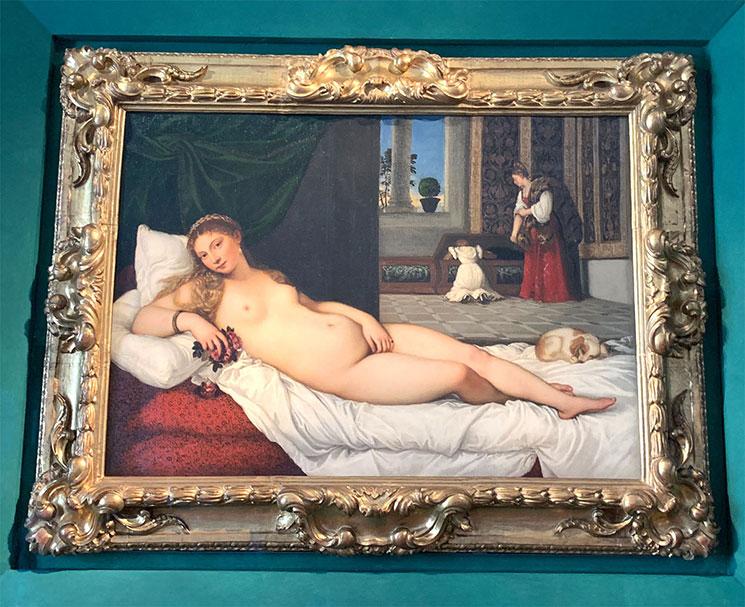 ウルビーノのヴィーナス / ティツィアーノ作(15387年頃)