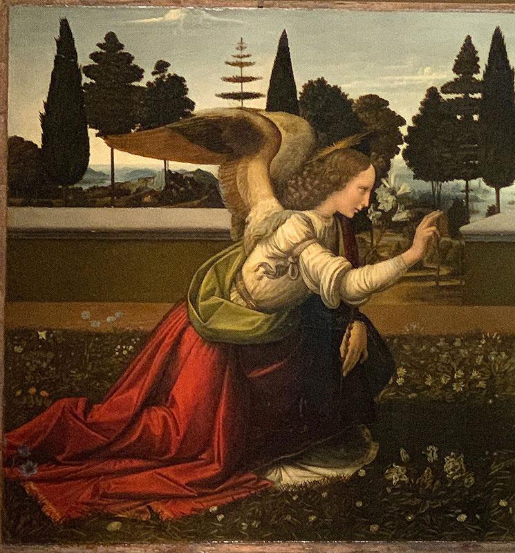 受胎告知 大天使ガブリエル